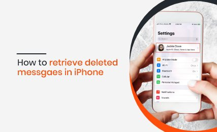 Retrieve deleted messages on iphone