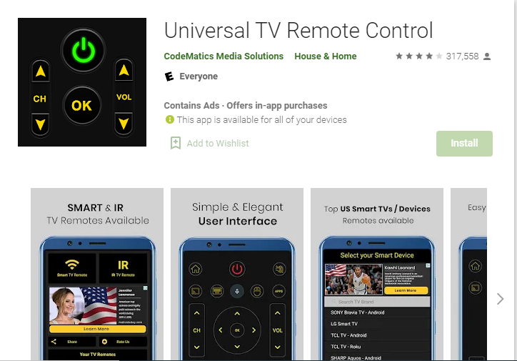 Universal TV Remote Control.PNG
