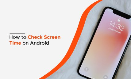 check screen time on Android