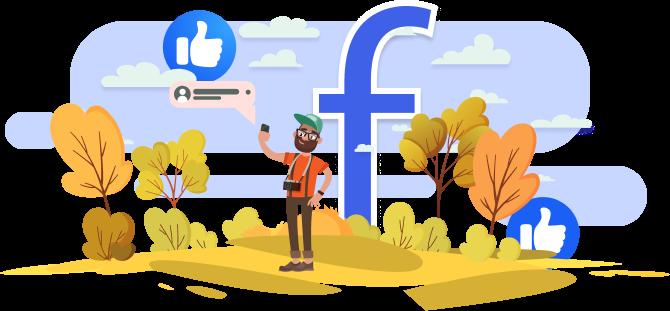 Facebook monitor