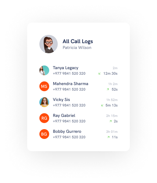 Get complete call log of the employee's device